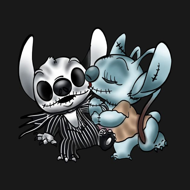 Check Out This Awesome Stitch 26 Angel Nightmare Before Xmas Design On Teepublic Cute Disney Wallpaper Cute Disney Drawings Disney Drawings