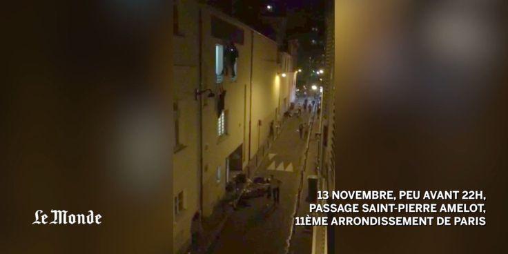 La vidéo effroyable des victimes du Bataclan fuyant par une issue de secours