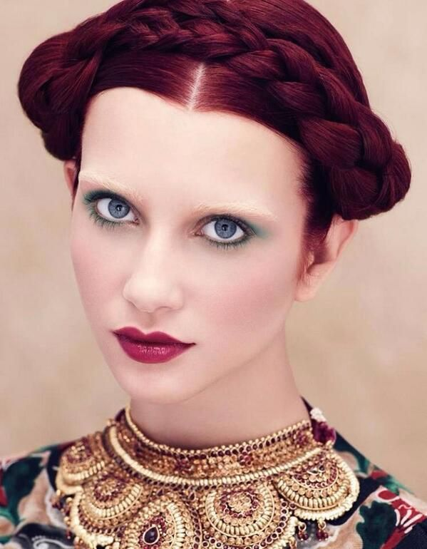 Sneak Peek of Aveda's 'Culture Clash' spring/summer 2014 Collection.