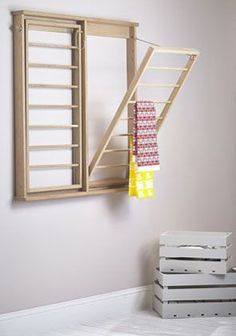 wood drying racks for laundry - Google zoeken                                                                                                                                                     More