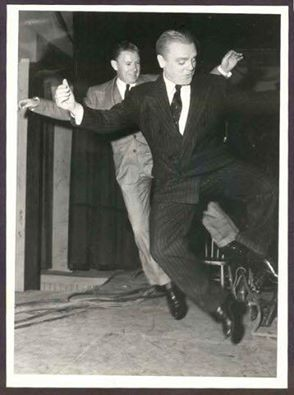 James Cagney - He loved to dance.