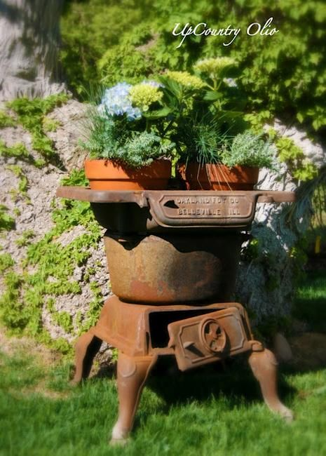 22 Best Images About Cast Iron Stoves Recycled On