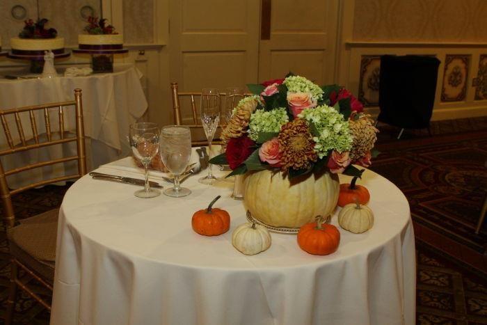 FiftyFlowers.com Testimonial - Fabulous Fall Wedding Flowers!