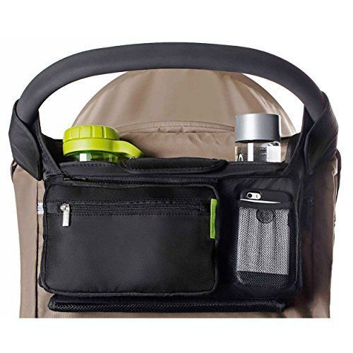 Stroller Organizer For Moms Cup Holder XL Storage Space Best Baby Shower Gift #StrollerOrganizerForMoms