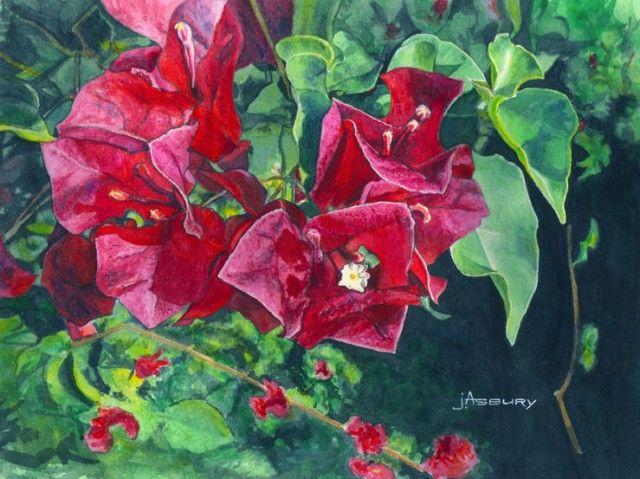 Bougie-Watercolor-Art