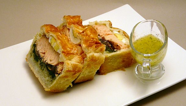 Koulibiac de saumon - Simple & Gourmand