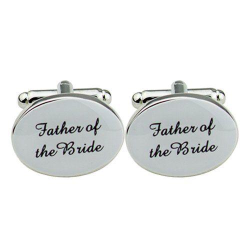 Bluelans® One Pair of Mens Oval Wedding Best Men Usher Groom Cufflinks Wedding Gift