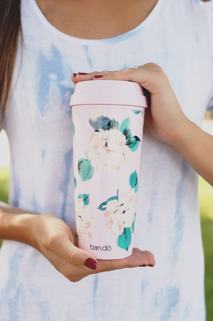 We didn't want to leave your hot beverages out in the cold, they deserve some style too! Our thermal mugs will keep your tea or coffee totally warm and cozy while you get to look extra cute. pretty mu