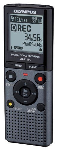 Olympus VN-711PC Voice Recorder with Flash 2GB Memory, WMA and Up to 72 Hours Battery Life - Grey No description (Barcode EAN = 5052181637044). http://www.comparestoreprices.co.uk/december-2016-4/olympus-vn-711pc-voice-recorder-with-flash-2gb-memory-wma-and-up-to-72-hours-battery-life--grey.asp