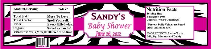 Download Now Zebra Print Baby Shower Invitations