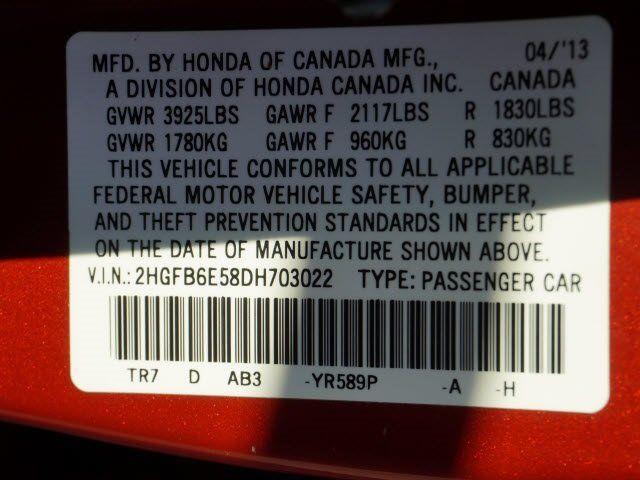 Cars for Sale: Used 2013 Honda Civic Si for sale in AVONDALE, AZ 85323: Sedan Details - 460626905 - Autotrader