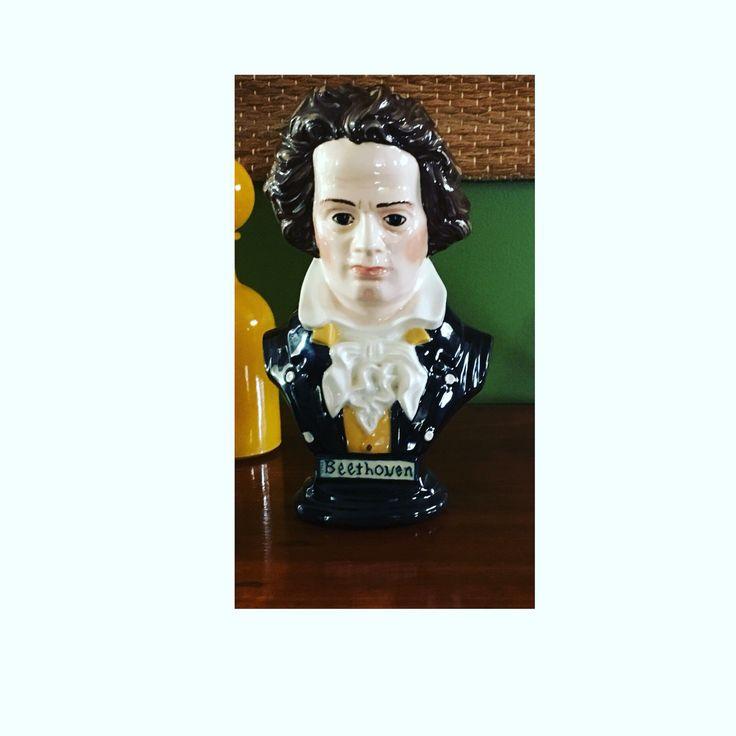 Vintage Beethoven bust. $30 plus postage X