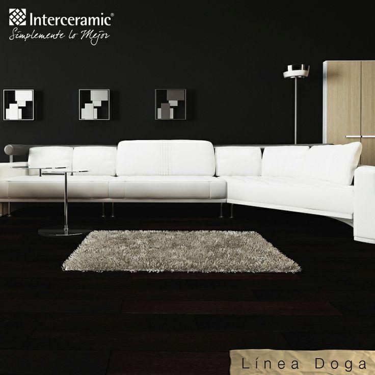 Las salas alargadas de colores b sicos o neutros ayudan for Basicos muebles contemporaneos