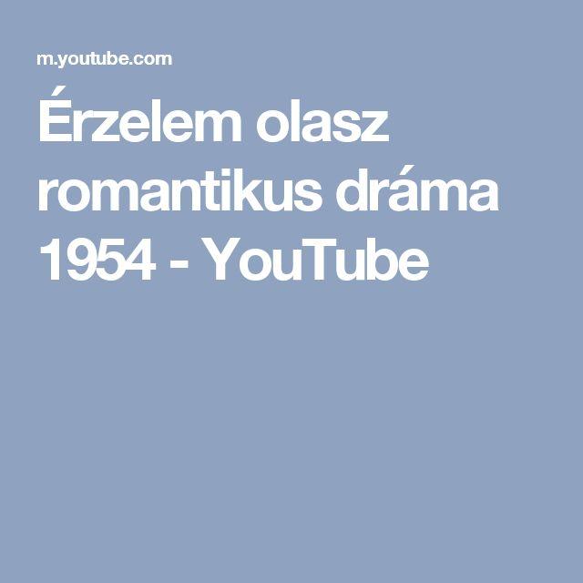 Érzelem olasz romantikus dráma 1954 - YouTube