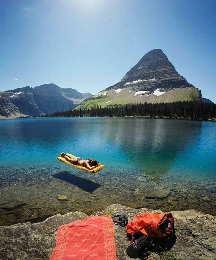 Hidden Lake Trail,Glacier National Park Montana, USA photography by @travisburkephotography
