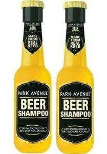Park Avenue Beer Shampoo. Inventions & Merchandises that serves our love for beer