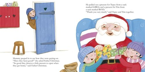 How to Meet Father Christmas for Beginners! Love the details, like going to the garden centre, the elves, everything. Great to read in preparation maybe for meeting the jolly man in red for the first time, especially for children who tend to be on the more shy or nervous side.
