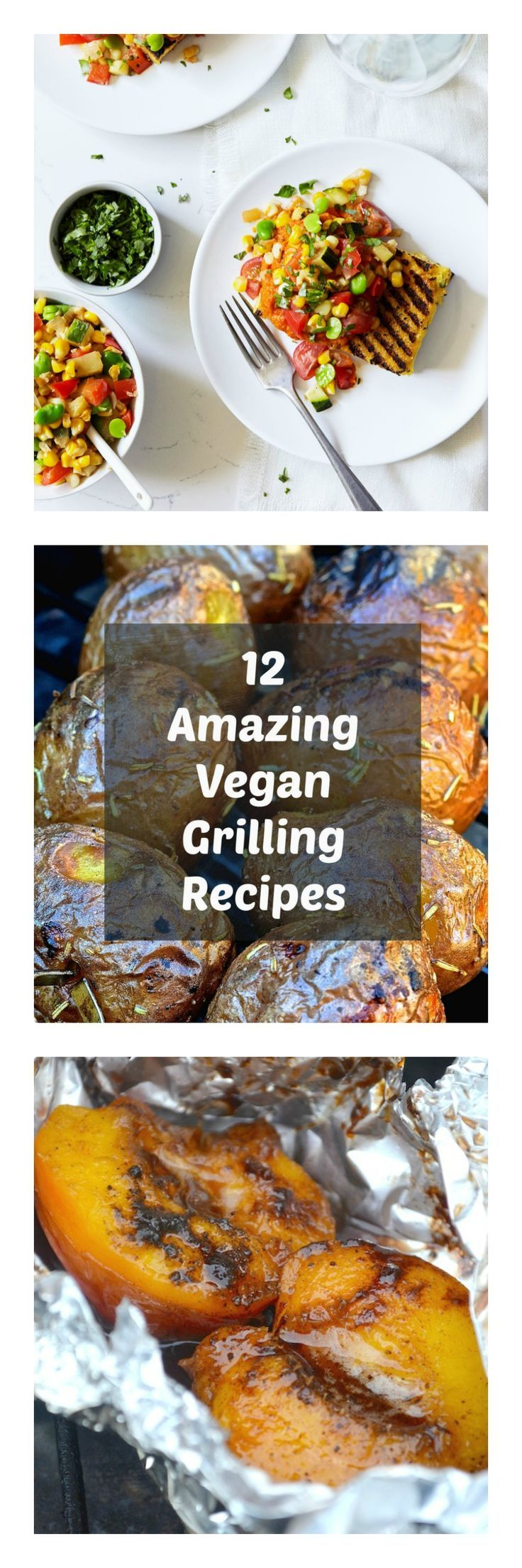 It's summer, the weather is great and grills are being fired up all over. Just because you are vegan does not mean you have to miss out on outdoor grilling, and I have rounded up a collection of 12 amazing vegan grilling recipes to inspire you. There is s