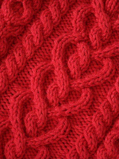 trança em tricot