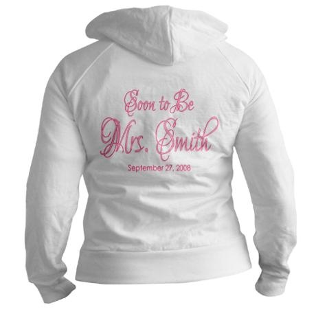 Soon to Be Mrs or The Future Mrs. Hoodie (H1) on