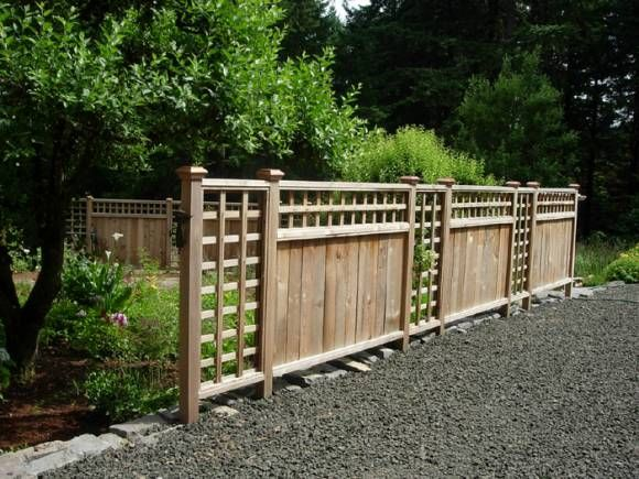 unique fences | ... Fence Like This | The Northwests Source for Fencing & Decking Deals