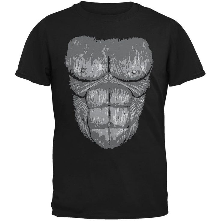 Halloween Gorilla Suit Costume Black Youth T-Shirt