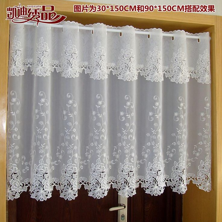 17 mejores ideas sobre cortinas de encaje blanco en pinterest ...