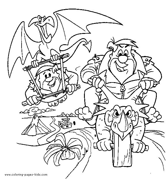 467 best Flintstones Coloring images on Pinterest | Colouring, Art ...