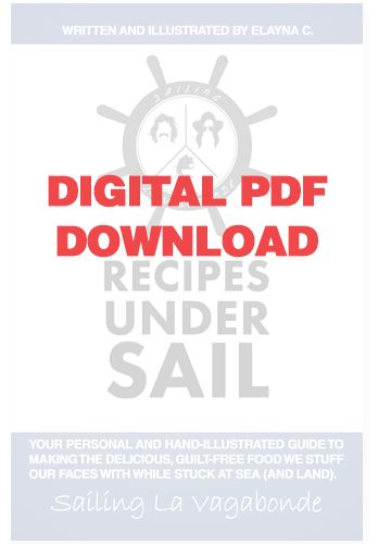 Recipe's Under Sail *Digital PDF ONLY*