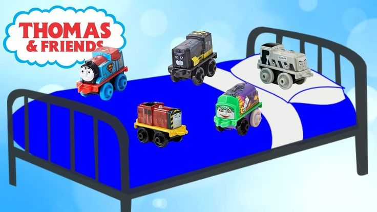 Thomas And Friends | Thomas The Train Minis | Nursery Rhyme Songs | Fun ...