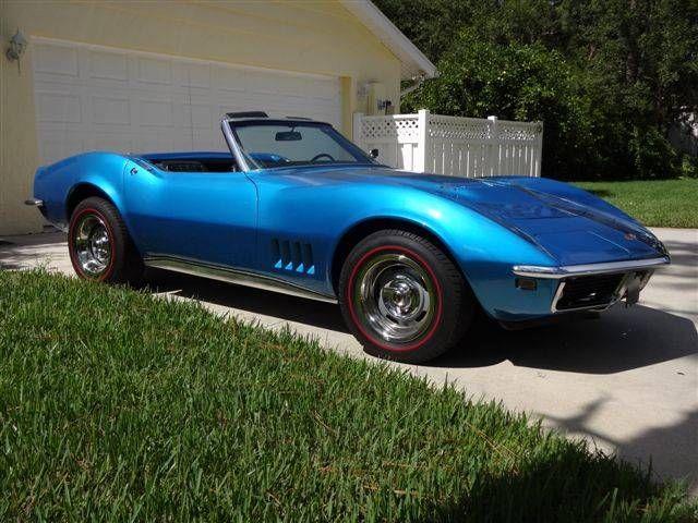 1968 chevrolet corvette stingray big block matching 427 435 hp l71 4 corvette. Black Bedroom Furniture Sets. Home Design Ideas