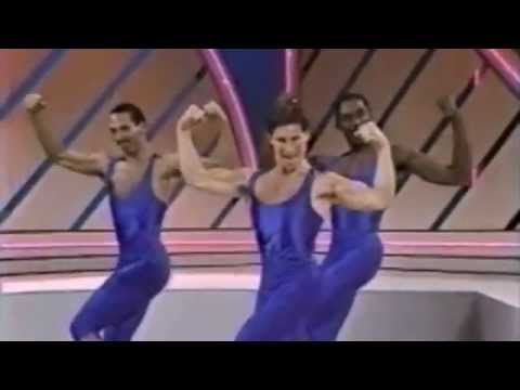 We're pressing our unitards after watching this throwback to the glory days of dance aerobics. Enjoy!
