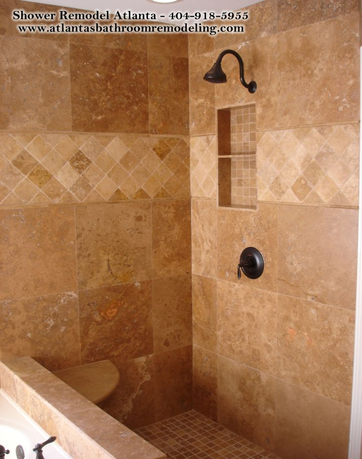 1000 ideas about travertine shower on pinterest