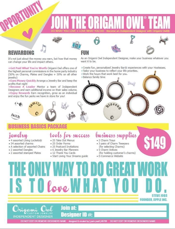 What better time to join Origami Owl than right before the holidays? Perfect way to make some extra money for Christmas presents!! Join my team! http://amberskeans.origamiowl.com