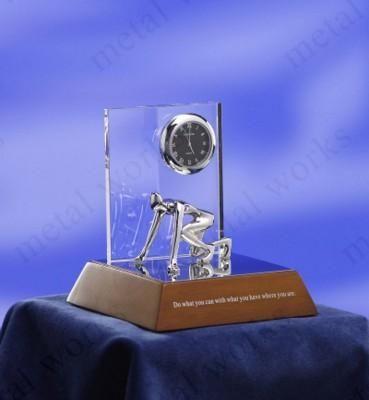 METAL CLOCK GIFT AWARDS