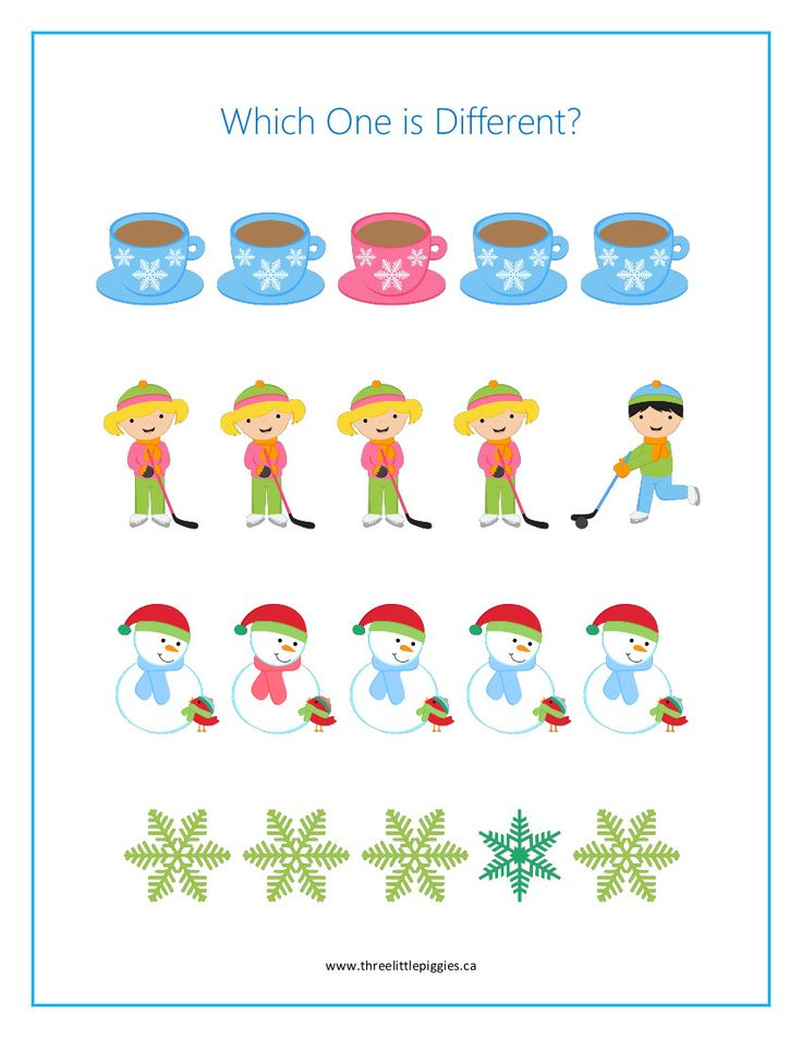 Preschool Winter Fun