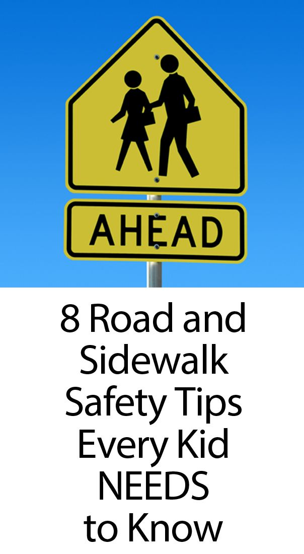 8 safety tips your kids need to know when walking and crossing the street
