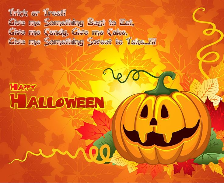 happy halloween quotes for kids - Halloween Card Quotes