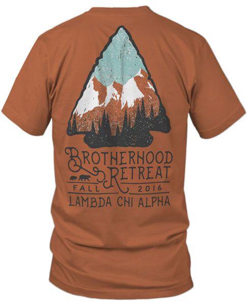 Lambda Chi Alpha Brotherhood T-shirt | Fraternity Rush | Rush T-shirts | Greek T-shirts | Ffraternity T-shrits | Comfort Colors |