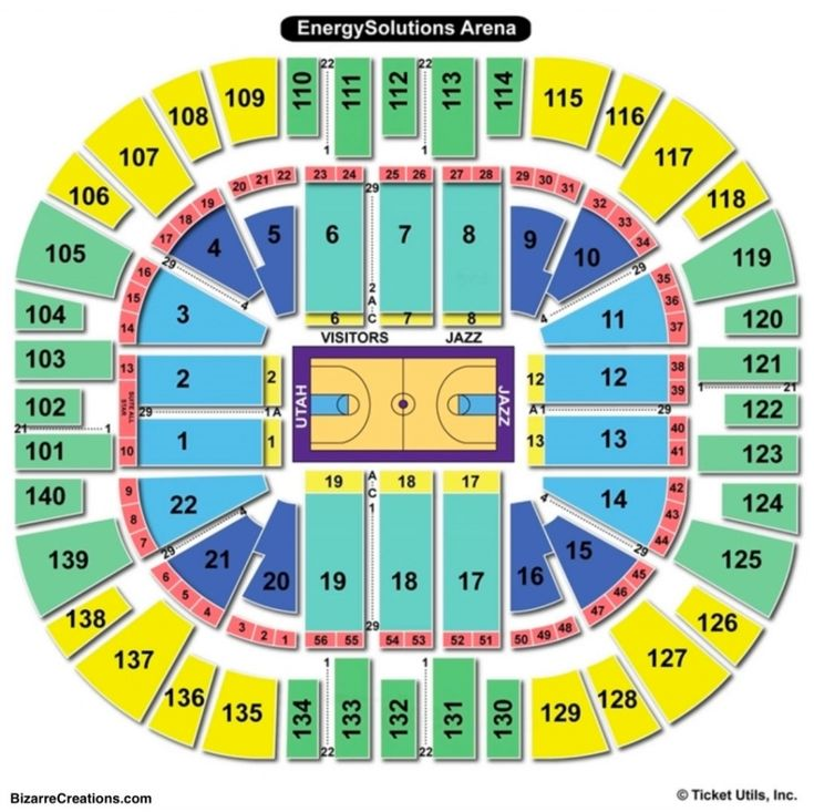 The Awesome And Beautiful Vivint Smart Home Arena Seating Chart Vivint Smart Home Seating Charts Vivint