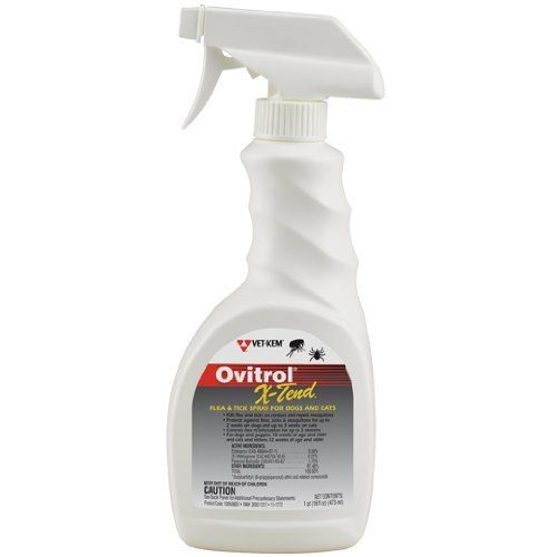 Ovitrol XTend Flea  Tick Spray 16 oz >>> You can get additional details at the image link.