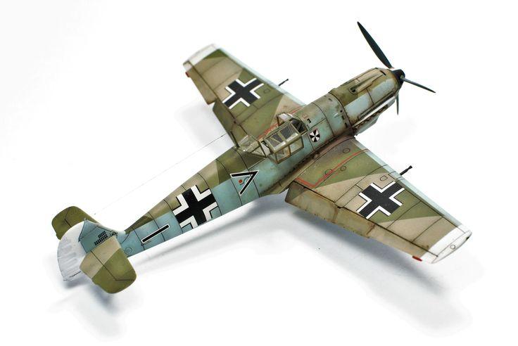 Bf 109E4, Airfix 1:72