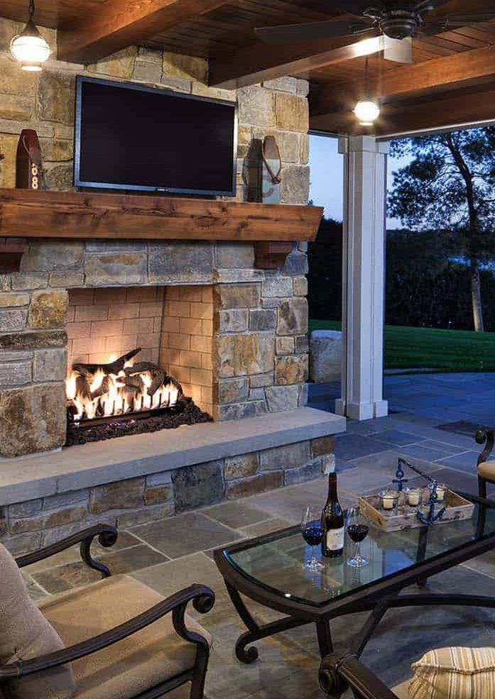 Best Outdoor Living Room With Fireplace Rustic Outdoor Fireplaces Outdoor Living Room Outdoor Living