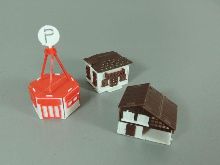 SPIELZEUG: Häuser - Parkhaus, Wohnhaus, Scheune