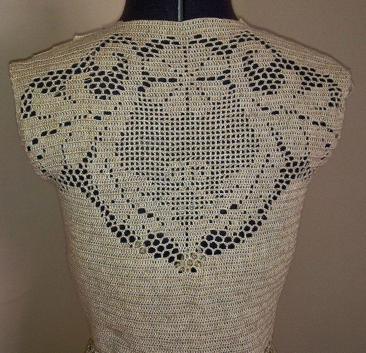 «Сухоцветы от Валентино - филейные платья крючком» . Обсуждение на LiveInternet…