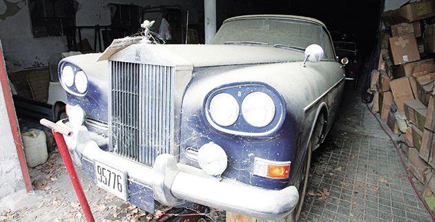 Οι Αναμνήσεις μας: Τα βασιλικά αυτοκίνητα στο Τατόι