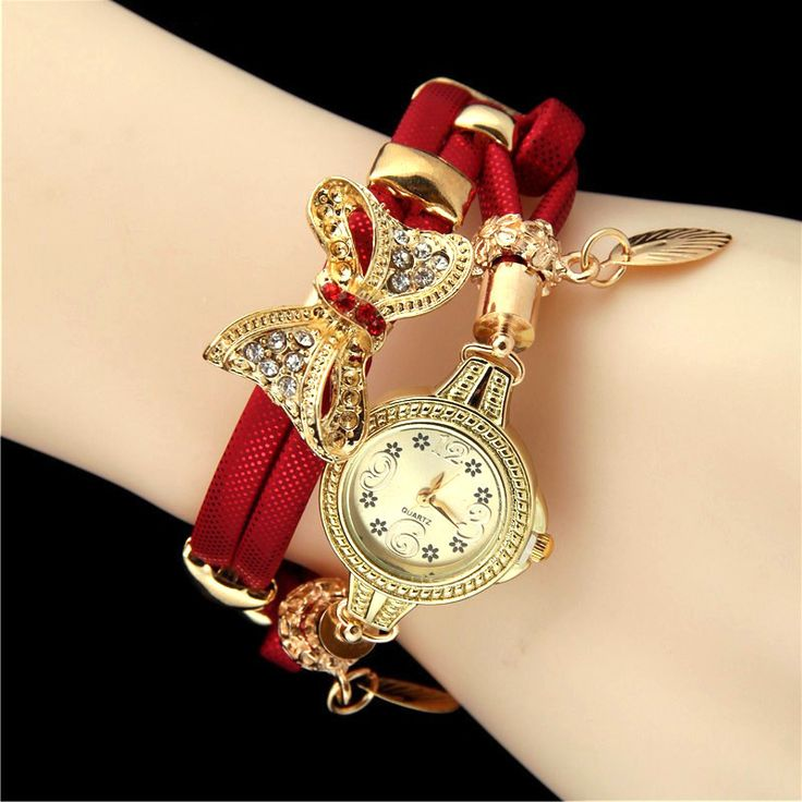 Butterfly Retro Bracelet Wristwatch with Rhinestones // Price: $10.95 & FREE Shipping //  We accept PayPal and Credit Cards.    #dress