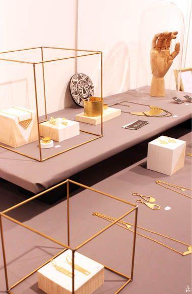 Simplistic jewelry display