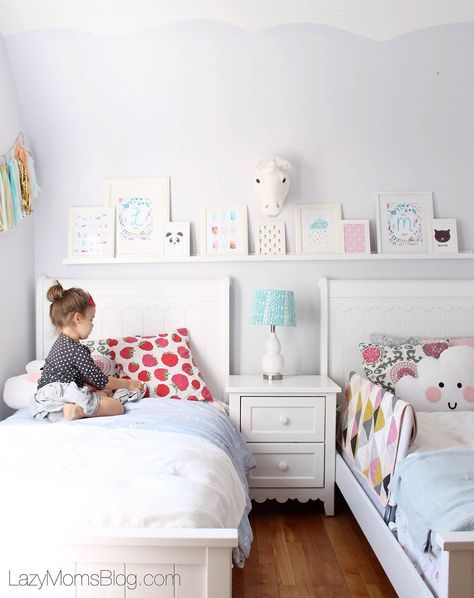 Pastel bedroom ideas and how to help kids fall asleep
