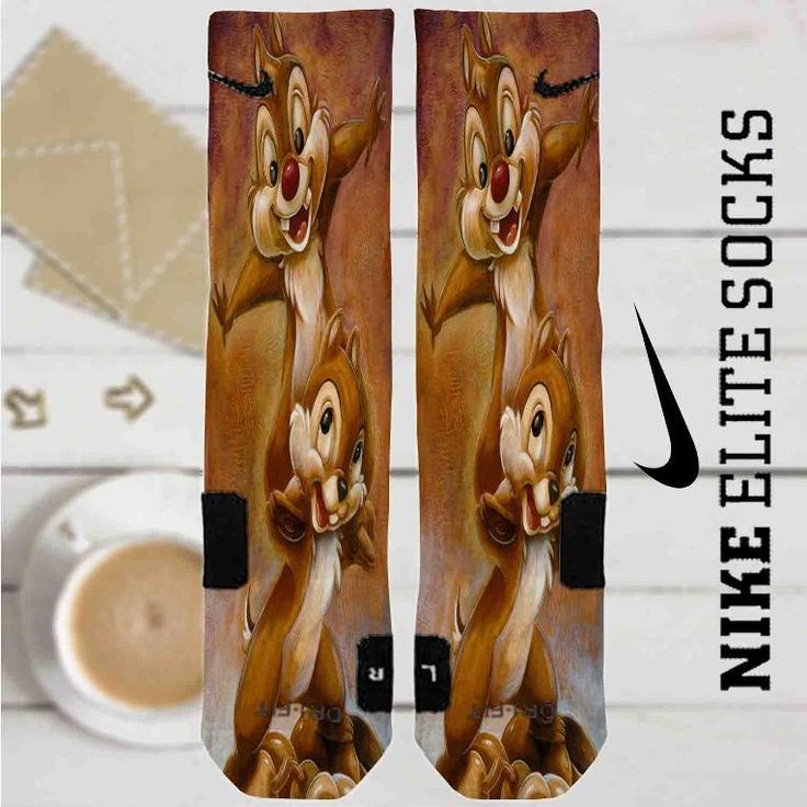 Disney Chip and Dale Custom Nike Elite Socks
